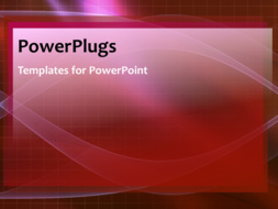 PowerPoint Template - An abstract networking background